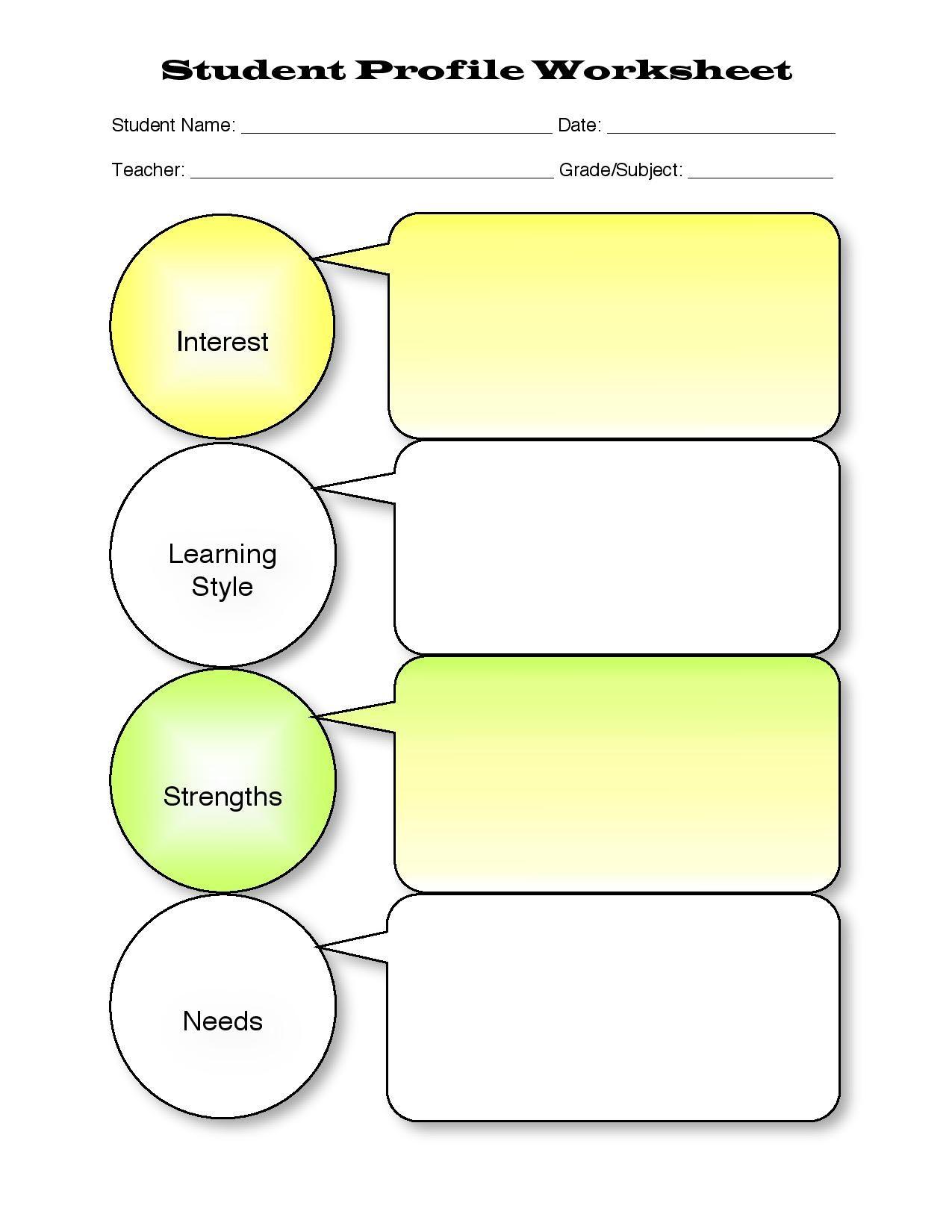 teacher style profile builder