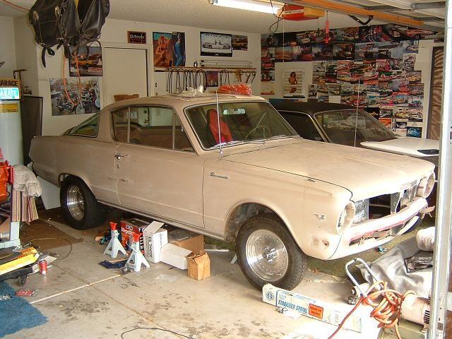 43 jr Tribute 1965 Plymouth Barracuda