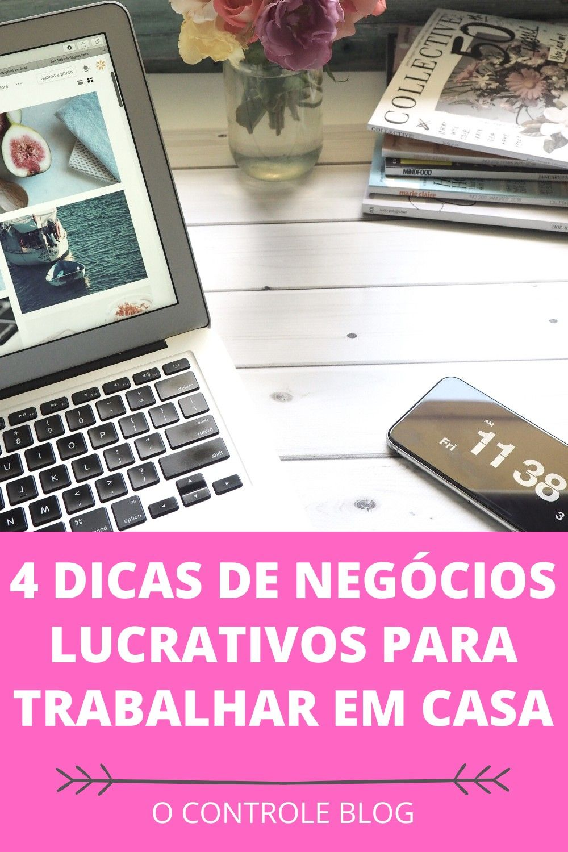 4 dicas de negócios lucrativos para trabalhar em c...