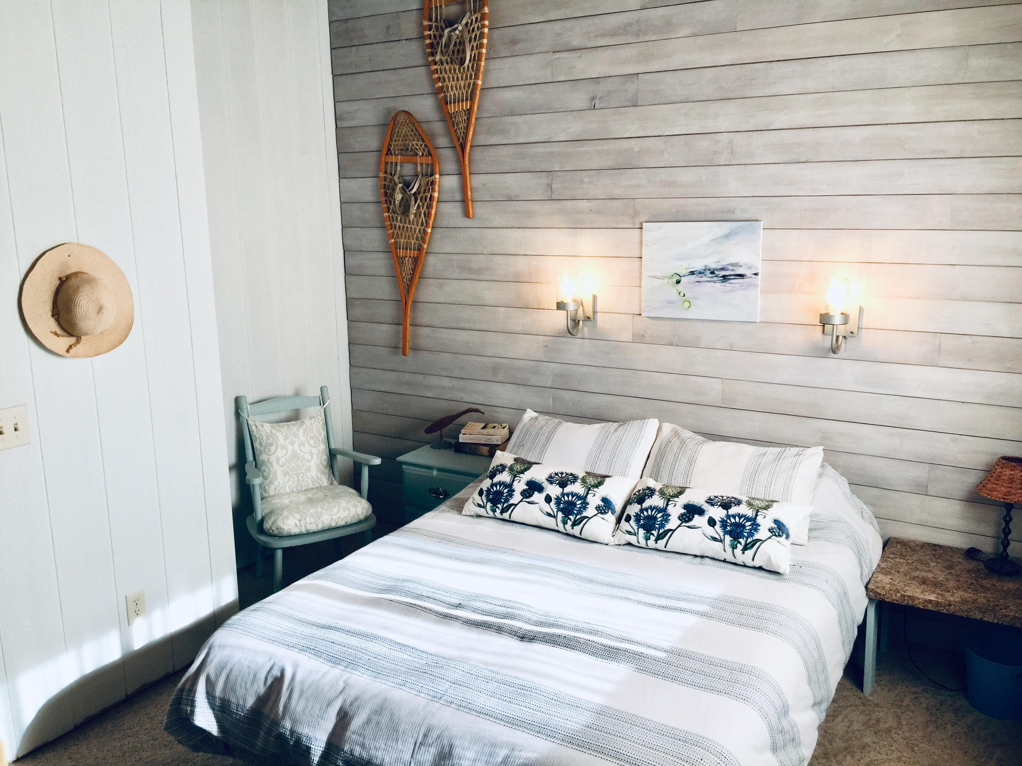 Master Bedroom At Our Lake St George Cottage In Manitoba Canada