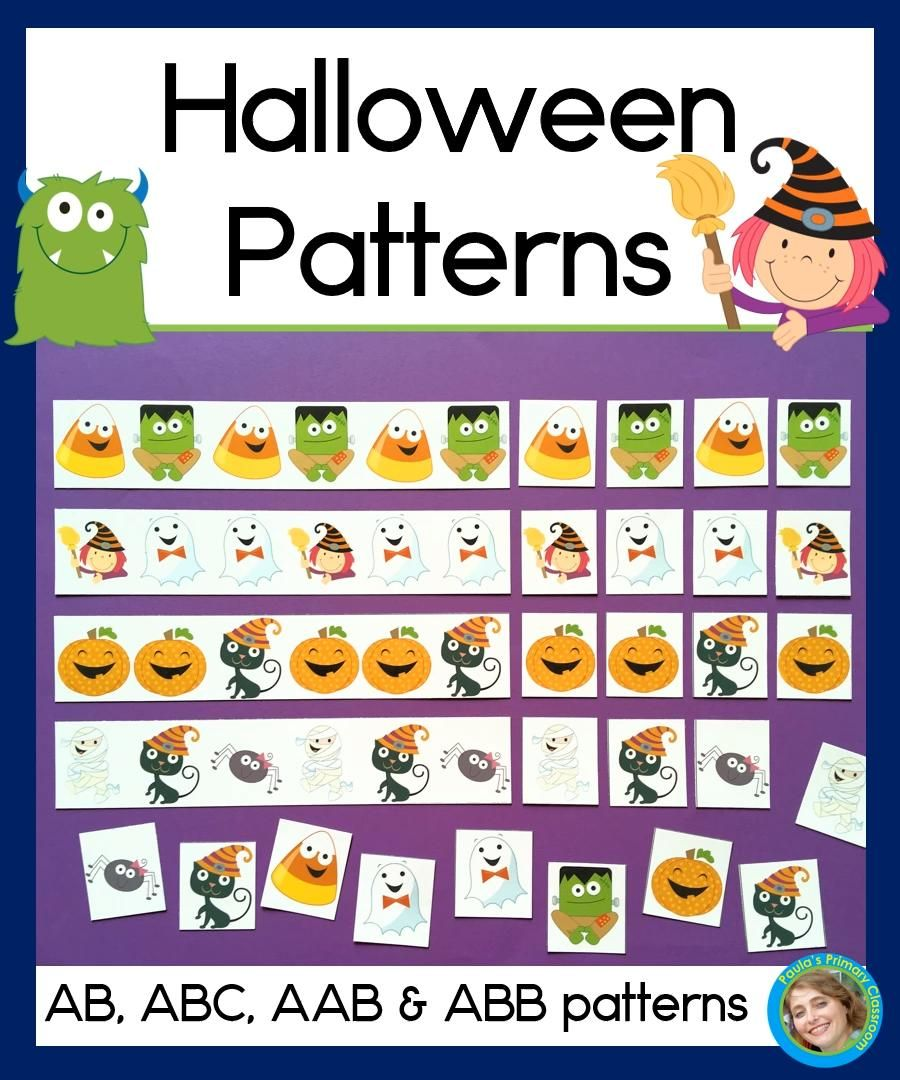 Halloween Math Center With Ab Abc Aab And Abb Patterns Video Video Kindergarten Math Center Halloween Math Centers Early Elementary Resources [ 1080 x 900 Pixel ]