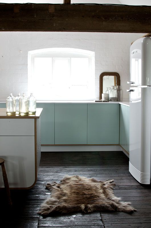 We Love The Perfect Mix Of Old And New In This Shot DeVOLs Air Kitchen