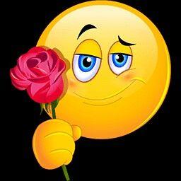 Una Flor Para Otra Flor Funny Emoji Faces Animated Emoticons Funny Emoticons