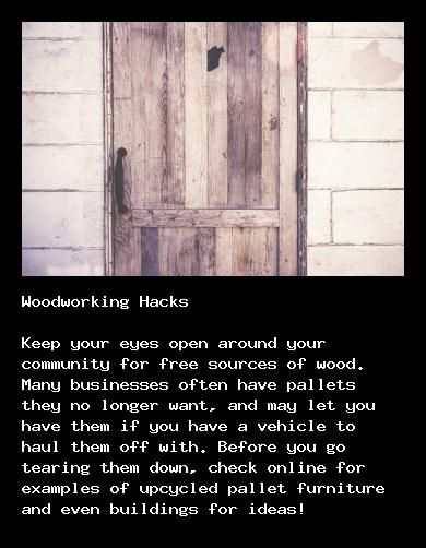 Learn how to run a woodworking business at http://walkerwoodesign.org