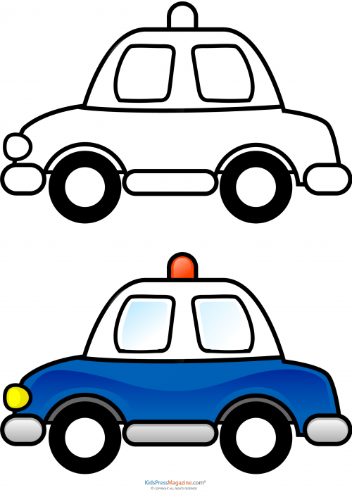 colorings co police car coloring pages coloring pages - Police Car Coloring Pages