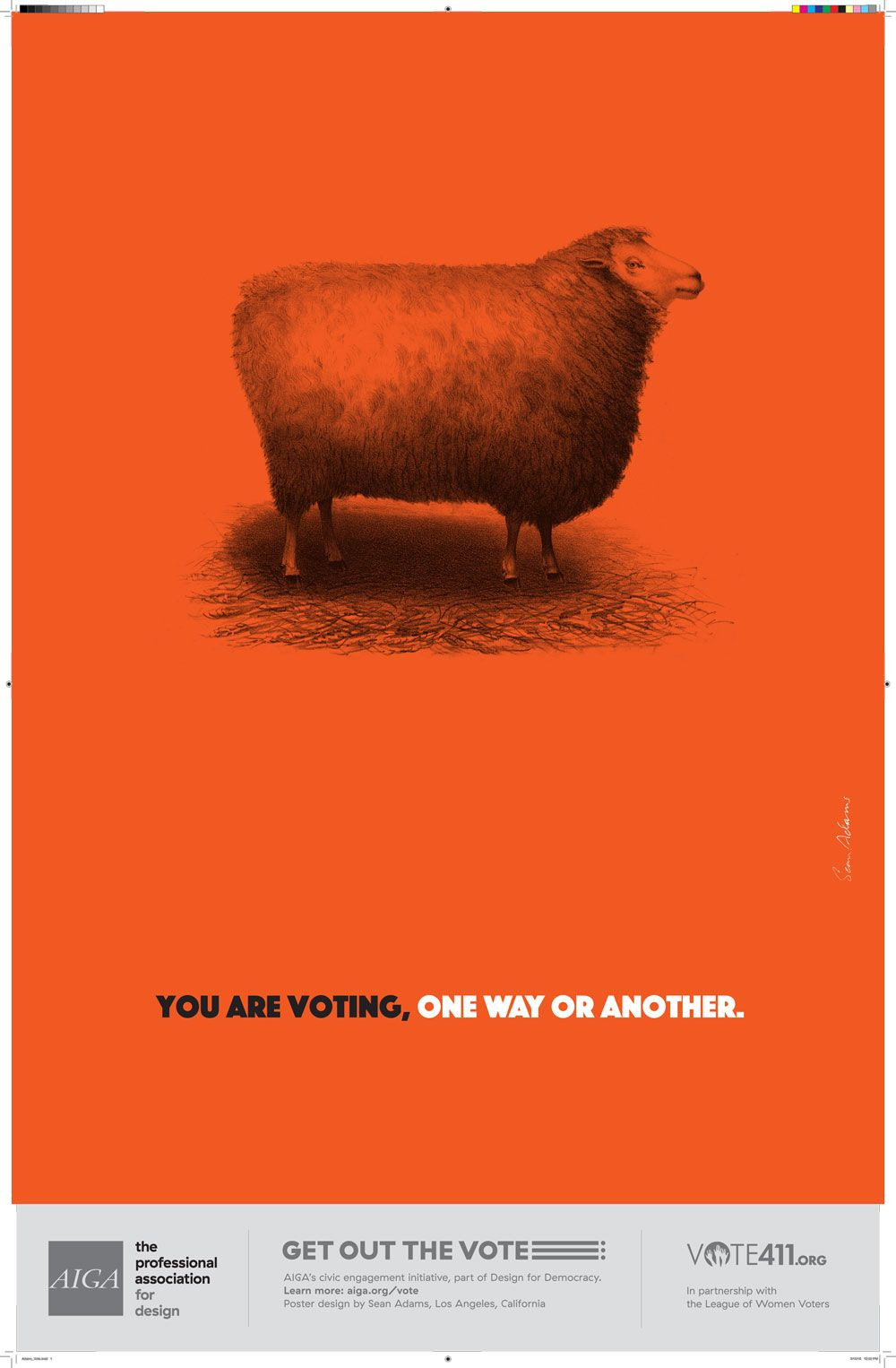 Zara poster design - 13 Wonderful Us Election Posters Designed To Inspire People To Vote Digital Arts