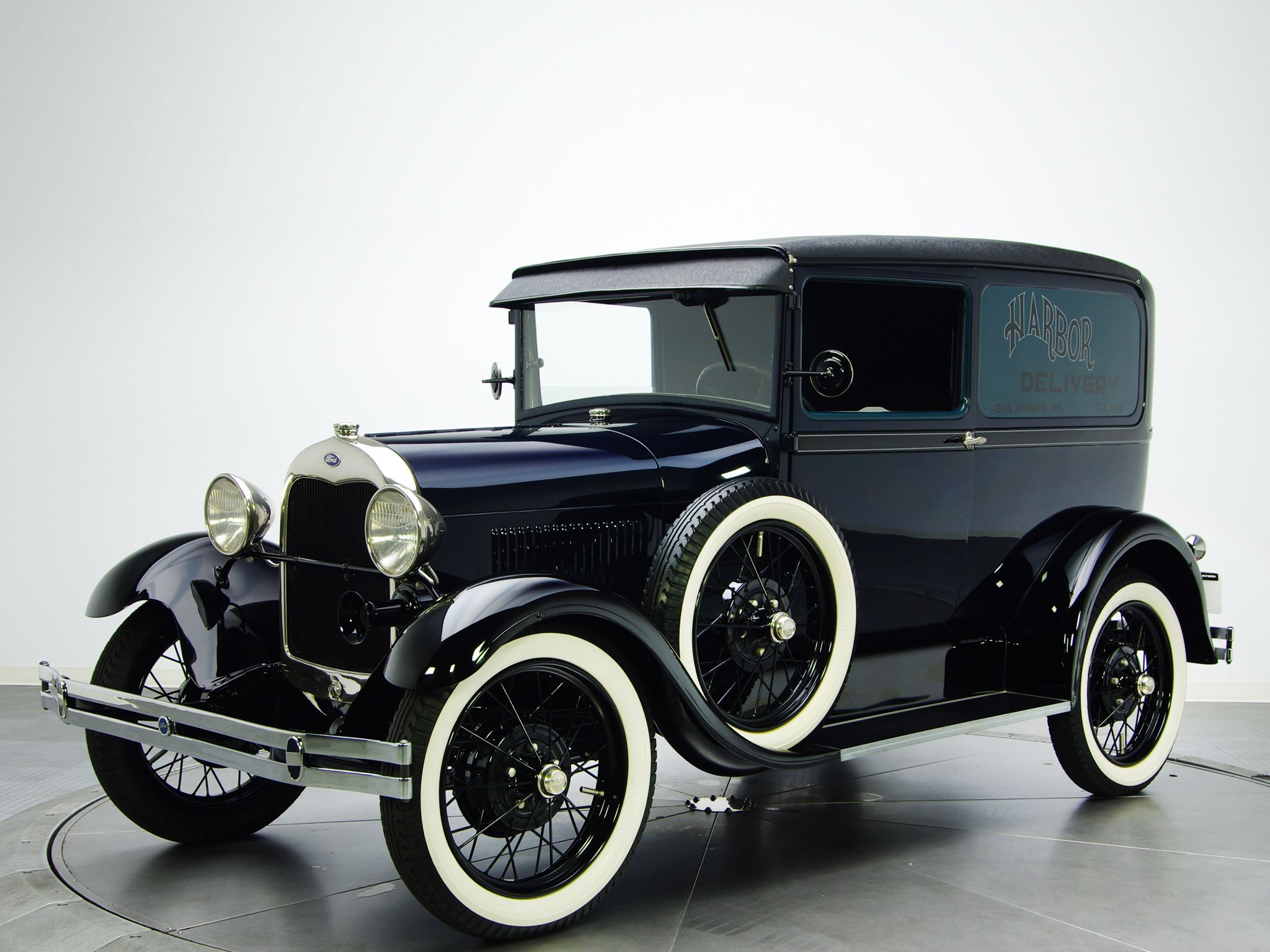 1929 Ford Model A Deluxe Delivery 130a Retro Transport H Wallpaper
