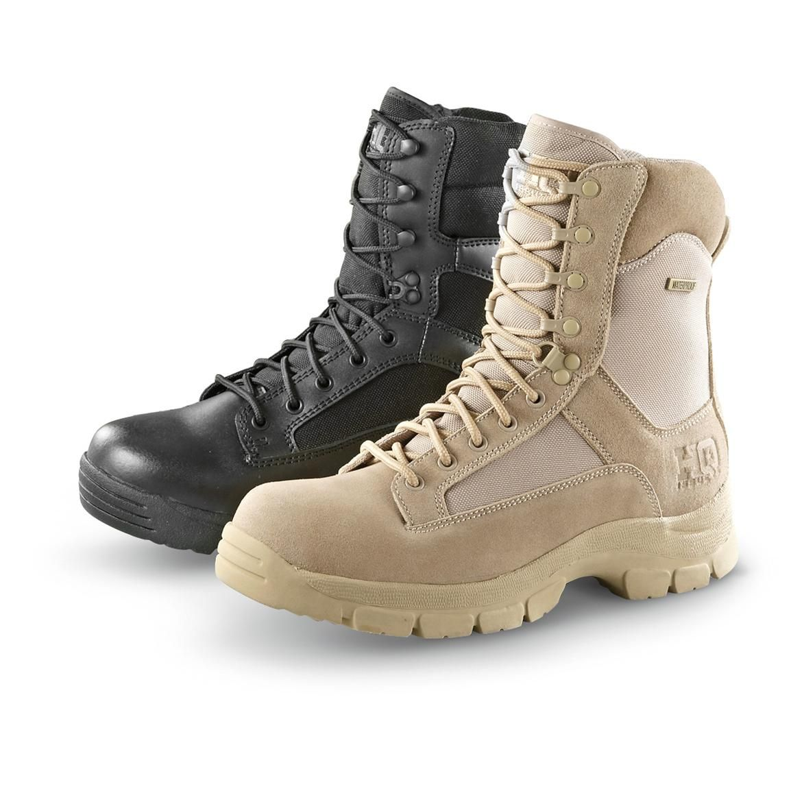 53c58e673bef HQ ISSUE Men s Waterproof Side Zip Tactical Boots in 2019