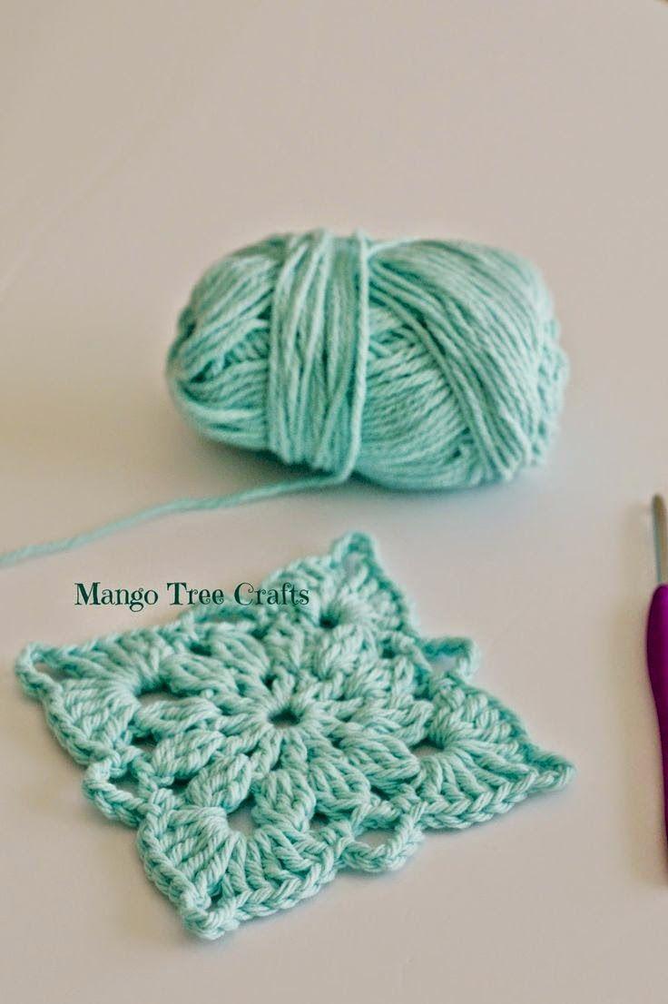 Crochet Square Pattern | Crafting Corner | Pinterest | Crochet ...