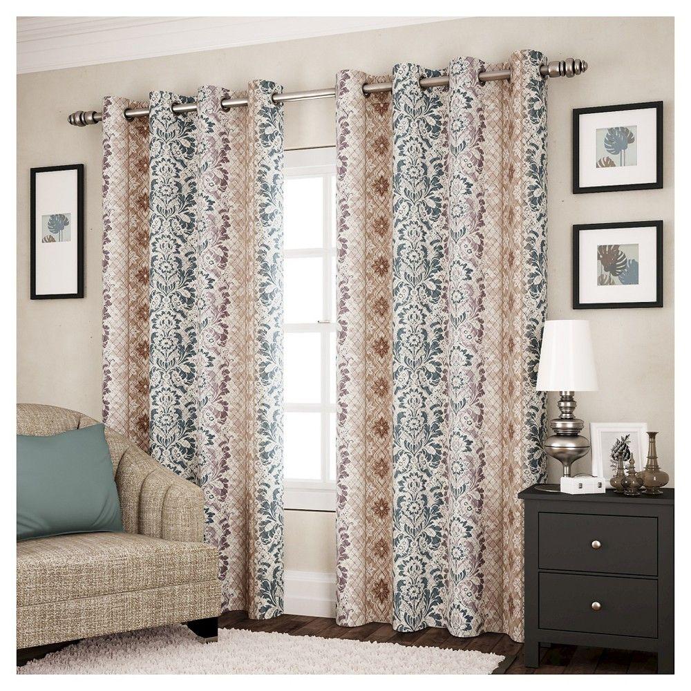 Shayla Thermapanel Curtain Panel Spa 63 Spa Blue Panel Curtains Curtains Light Blue Curtains