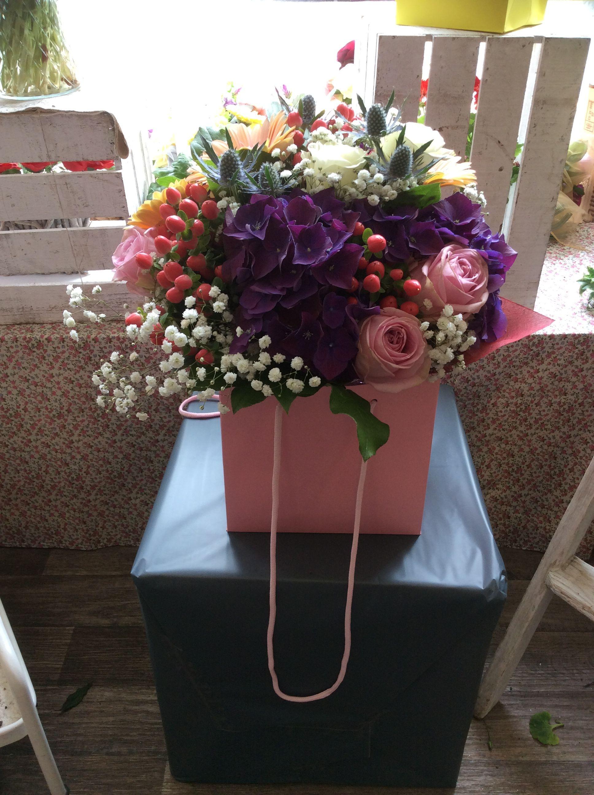 Hydrangea Bouquet Flower Delivery Same Day Flower Delivery Large Flower Arrangements