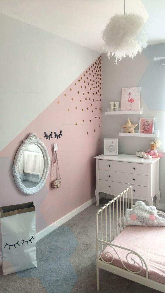 Pintura de quarto feminino