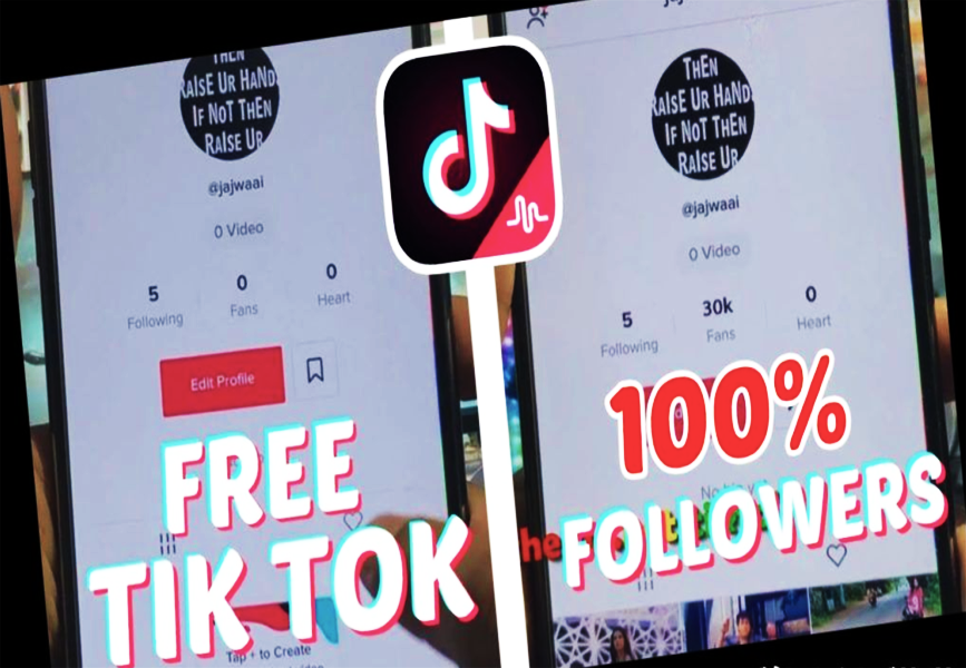 Tiktok Free Followers Free Followers How To Get Followers How To Be Famous