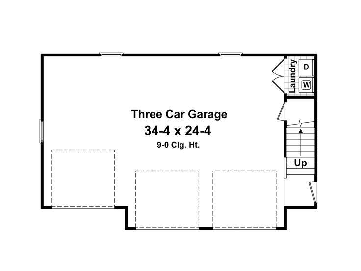 1st Floor Plan Garage Floor Plans Carriage House Plans Carriage House Garage