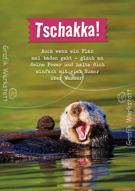 Tschakka! - Postkarten - Grafik Werkstatt Bielefeld | Top ...