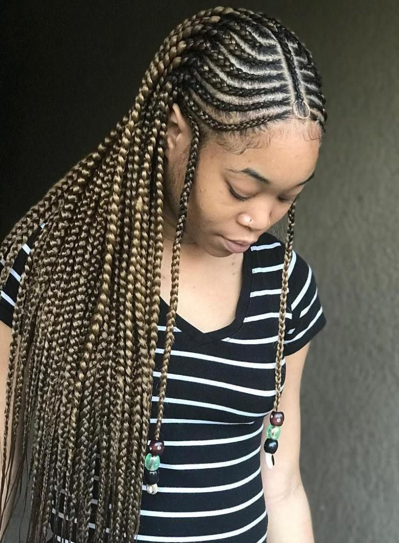 Cornrows Hairstyles 2018 For Ladies