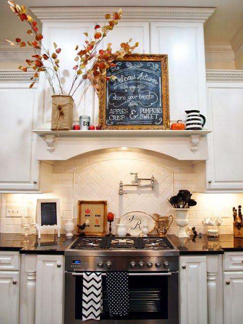 Always Something Valentine S Day Diy Decor Fall Kitchen Decor Fall Kitchen Kitchen Decor