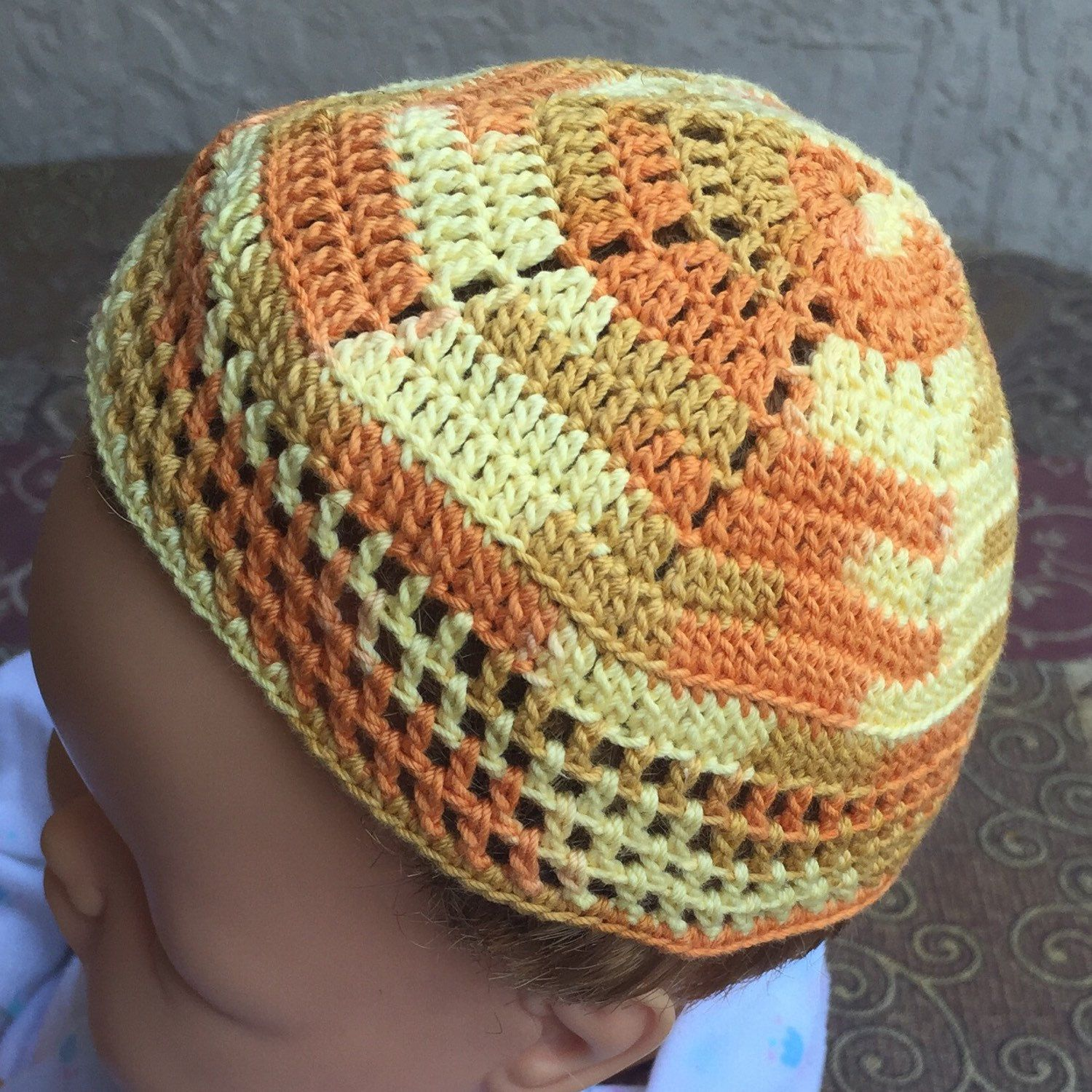 Baby bris kippah lion Leo Ari or any animal yarmulke can be father ...