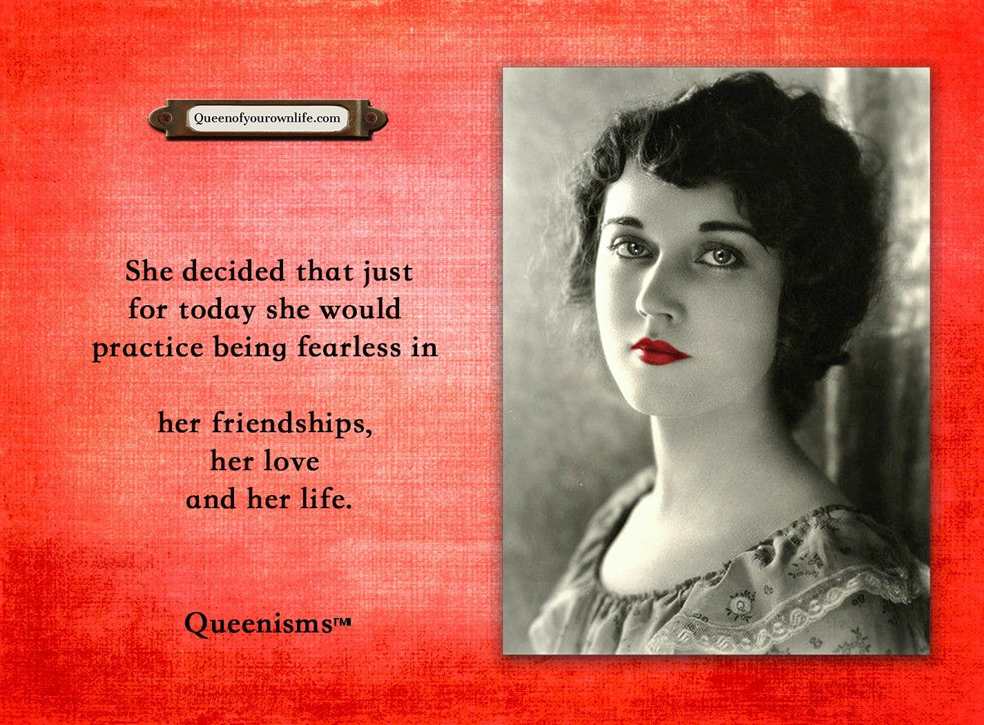 Just For Today Quotes She Decided That Just For Today She Would Practice Being Fearless