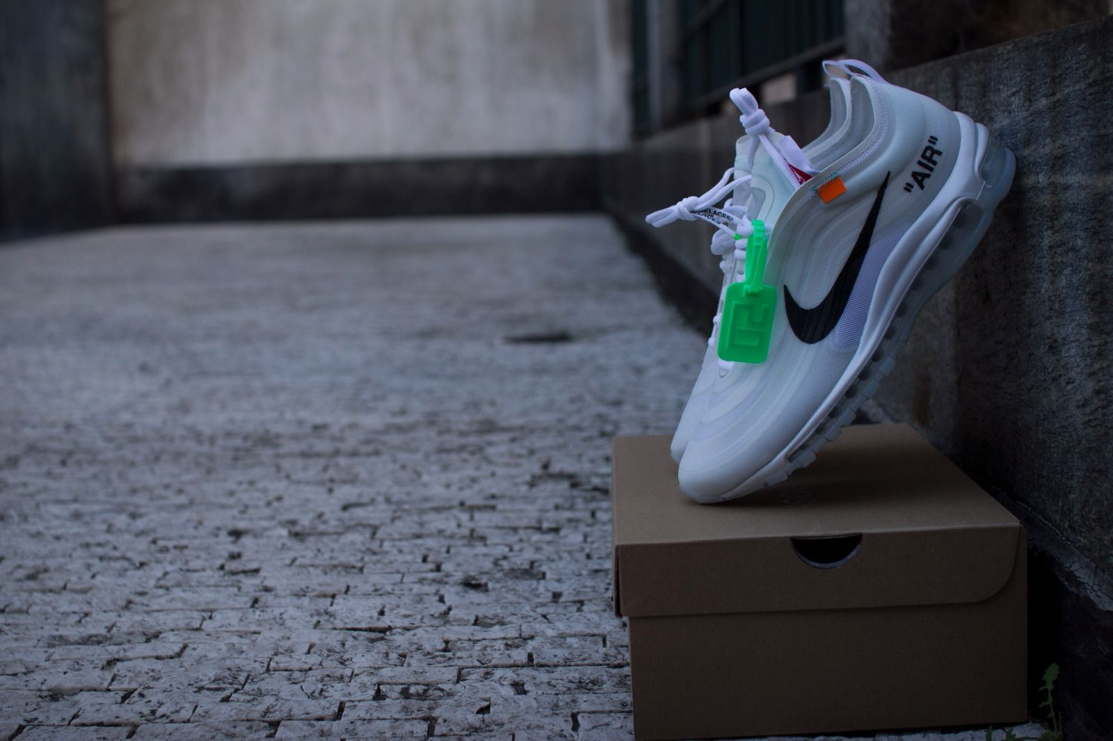 Off White x Nike Air Max 97 Wolf Grey For Sale