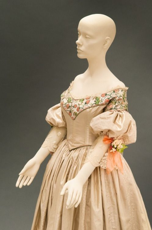 Costume designed by Sandy Powell for Emily Blunt in The Young Victoria (2009) From FIDM