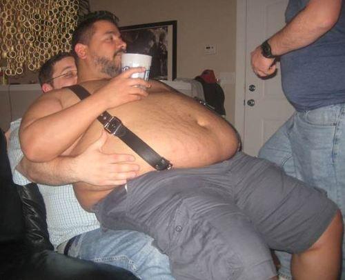 Chubby fat guy