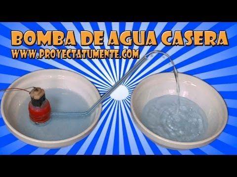 20d4036ce5a Como Hacer una Mini Bomba de Agua Casera - YouTube