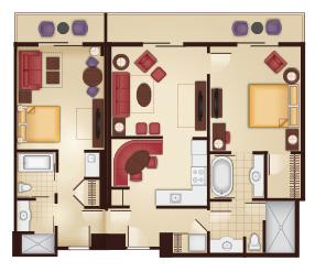 Dvc grand floridian 2 bedroom lockoff grand floridian - Disney grand californian 2 bedroom suite ...