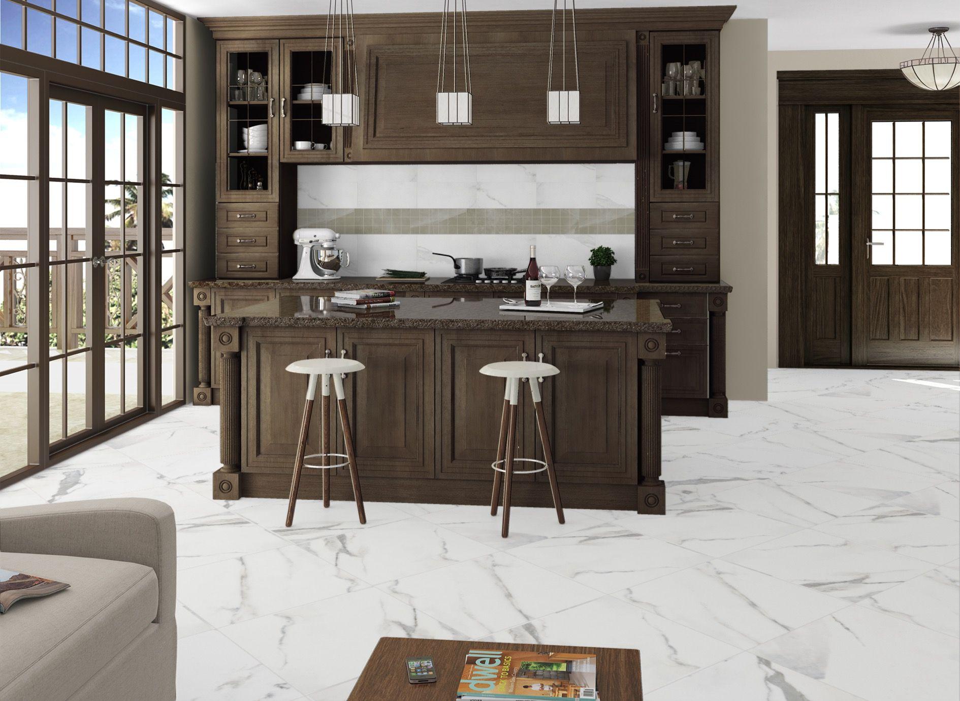 Anatolia Classic Calacatta And Pulpis Grey Arley Evolution Tile Design