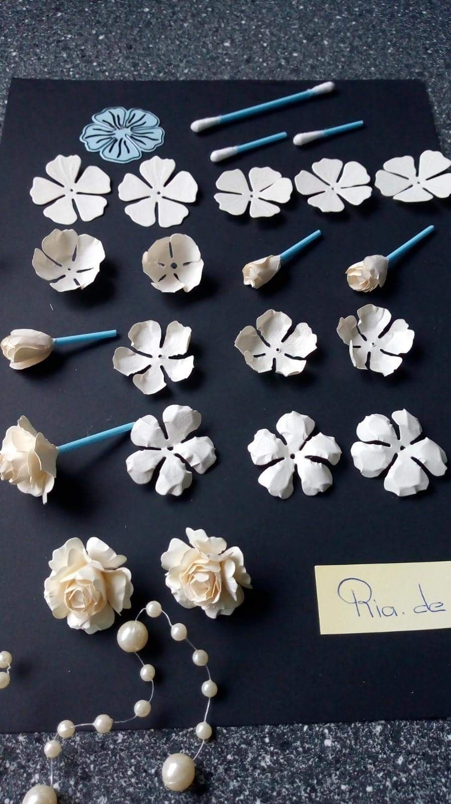 Simple Paper Rose Bunga Kertas Tisu Bunga Kertas Tutorial