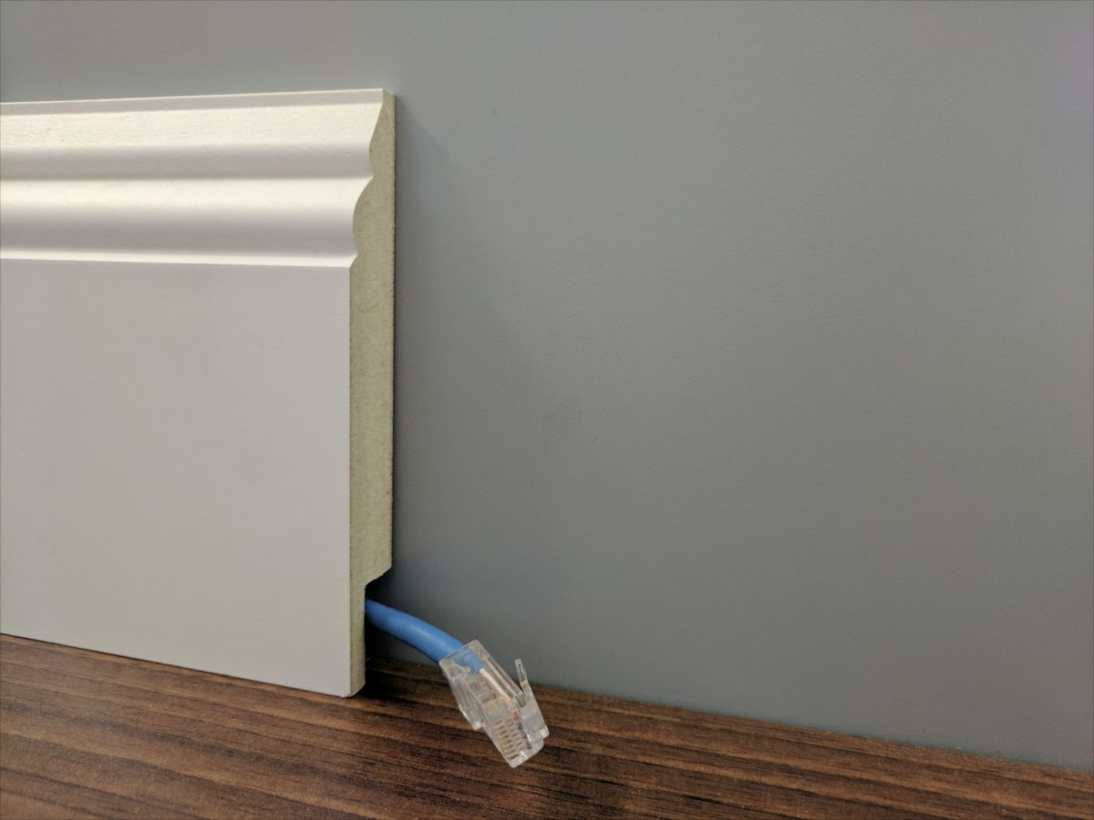 Cool How To Hide Cables With Skirting Board Janeville In 2019 Hide Wiring Database Numdin4X4Andersnl