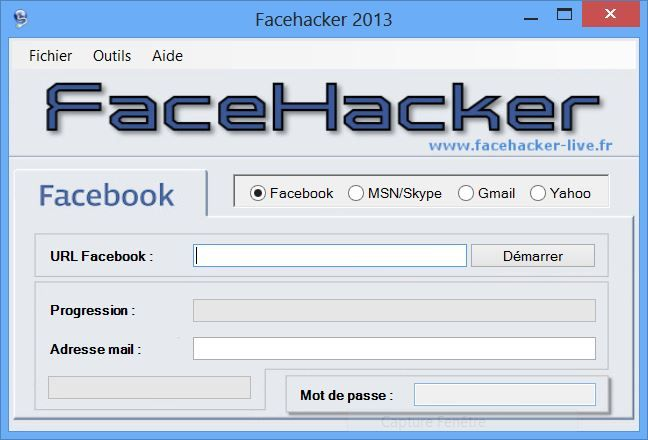 facehacker sans code