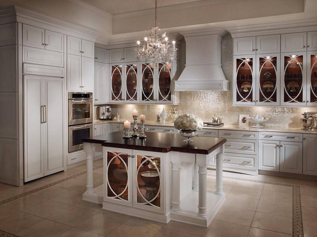 Your Kitchen Is One Of The Most Popular Rooms In Your Home It Is The Hub Of The Ho Antique White Kitchen Antique White Kitchen Cabinets Glass Kitchen Cabinets
