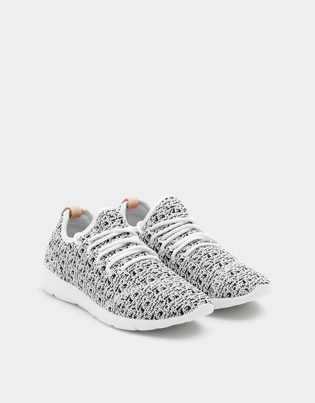 Productivo Dedicación Niños  $399 Tenis calcetín rejilla - PULL&BEAR | Adidas tubular, Sneakers, Snikers