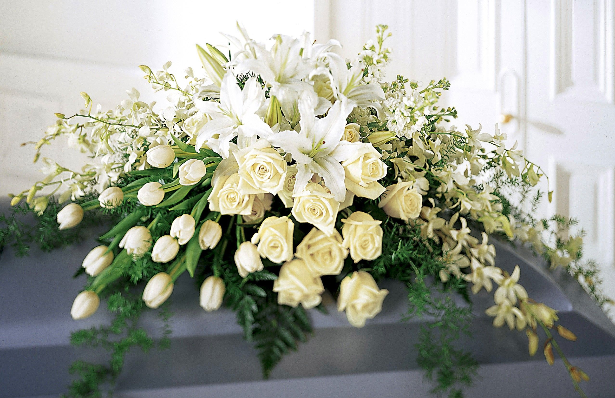 White memories casket spray cs2 plants pinterest casket white memories casket spray cs2 izmirmasajfo