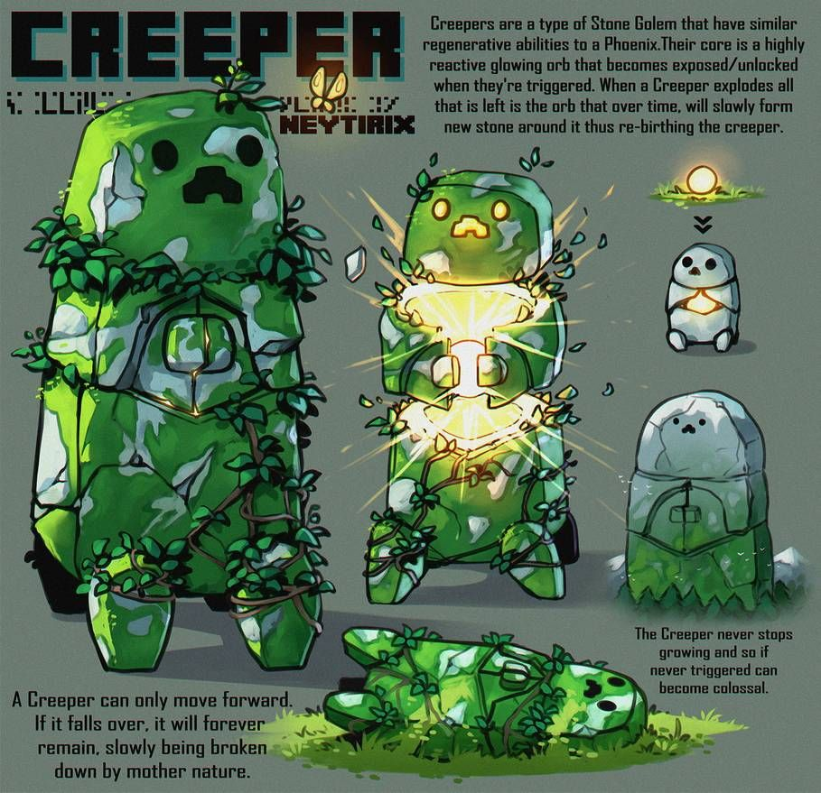 Creeper By Neytirix On Deviantart In 2020 With Images Minecraft Art