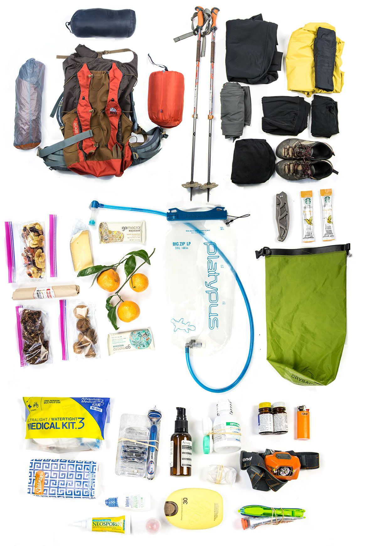 5c10724458 Ultralight Backpacking Checklist