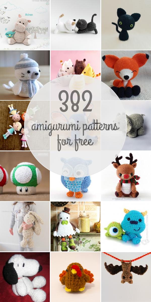 Free patterns - Page 7 - Amigurumipatterns.net | Amigurumiהחייס שלי ...