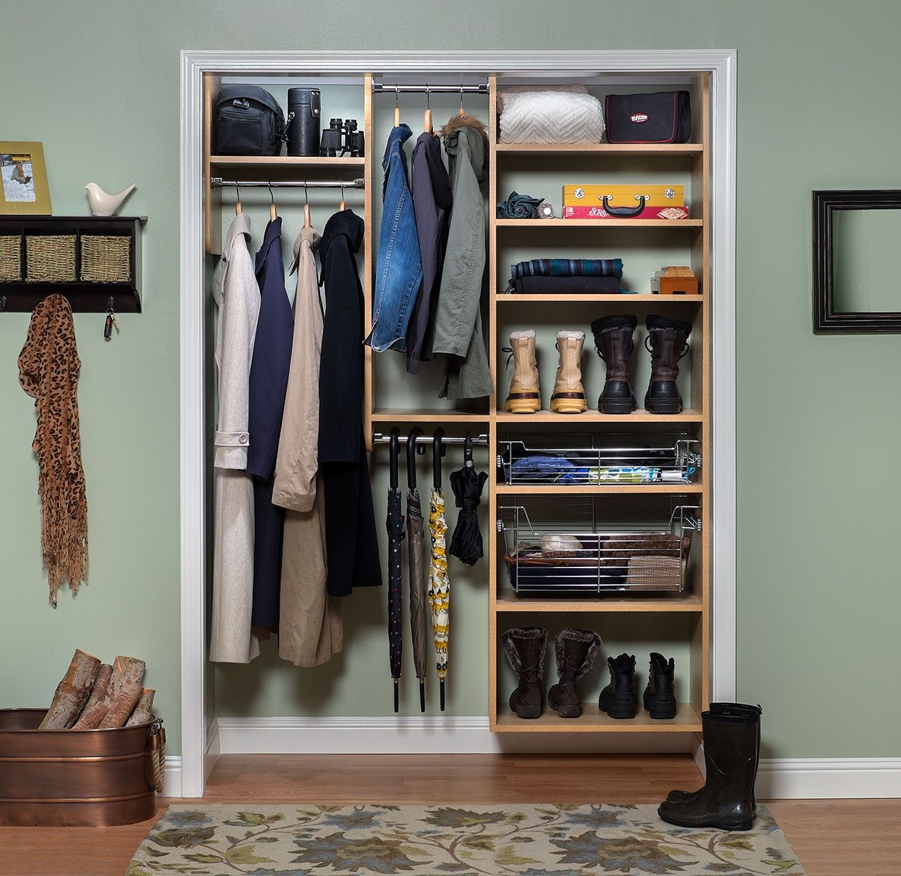 Save Time, Space And Money With Closet Organizers And Storage Systems From  A Leading Supplier Of Custom Closet Components. View The Photo Gallery!