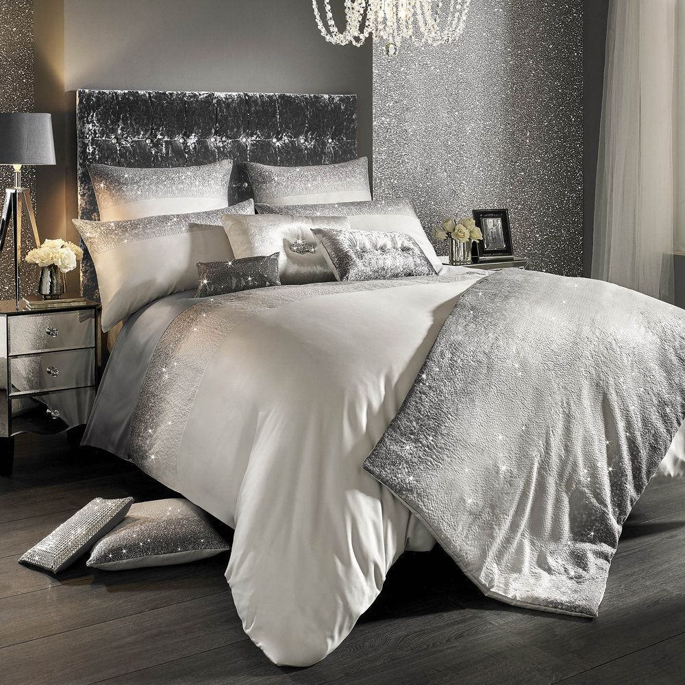 Discover The Kylie Minogue At Home Glitter Fade Duvet Cover