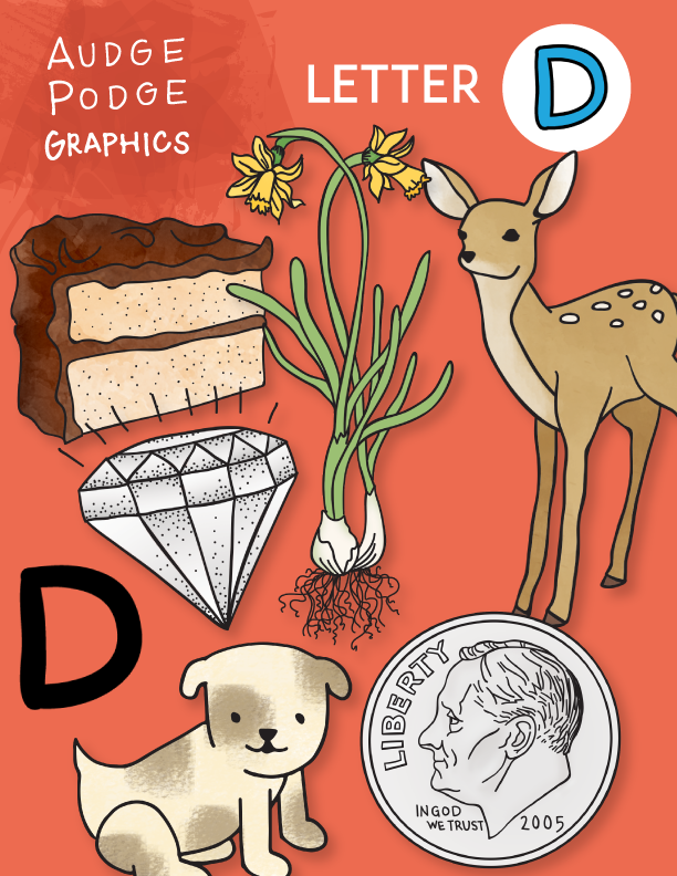Graphics that start with the letter D!