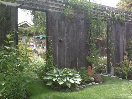 Marvelous Mirror Panel In Garden