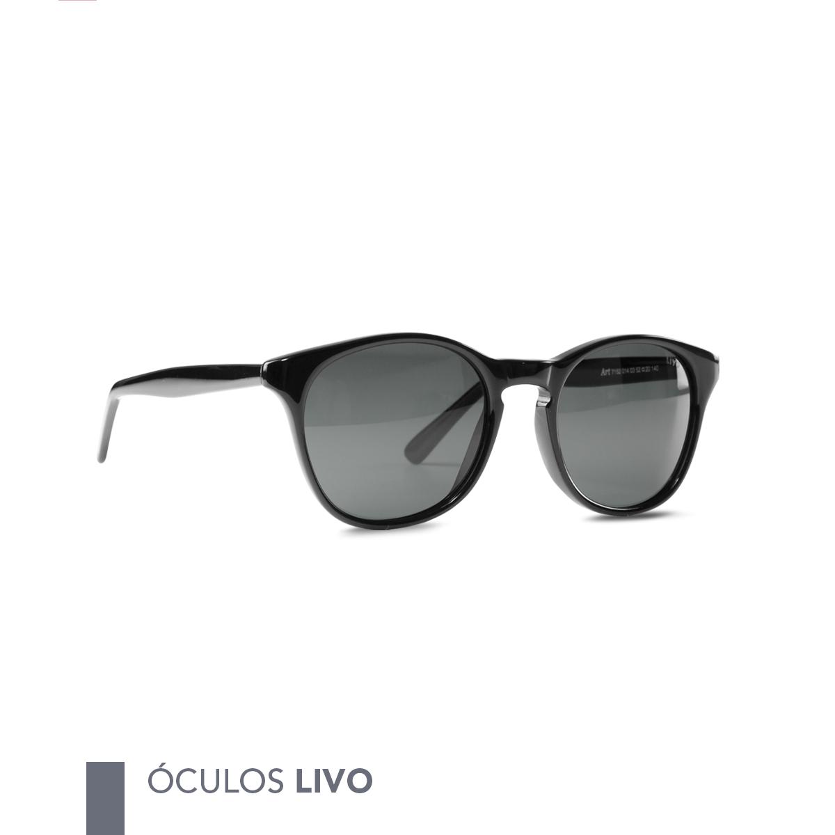 6ae3c0fe4c27a Óculos Livo Jules Solar Preto ⠀ ➝ Compre pelo site ou em nossa loja física ↳