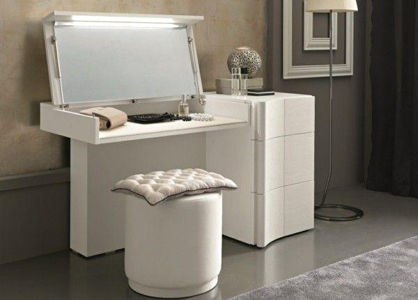 Schminktische Deko Ideen Weiße Gestaltung #Design #dekor #dekoration #design  #Heimtextilien #