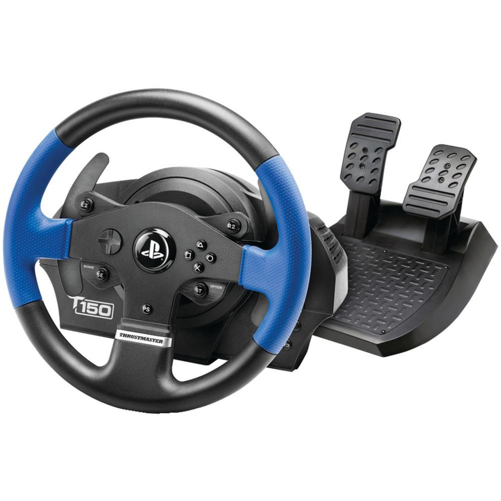 Thrustmaster Playstation 4 Playstation 3 Pc T150 Rs Racing Wheel