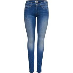 Photo of Only Onlalba Reg Skinny Skinny Fit Jeans Damen Blau Only
