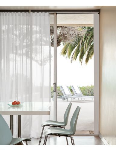 New ripple wave fold drapery closely spaced deeper - Curtains for sliding glass doors in bedroom ...