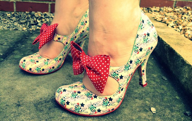 Irregular choice - shoes with bows!