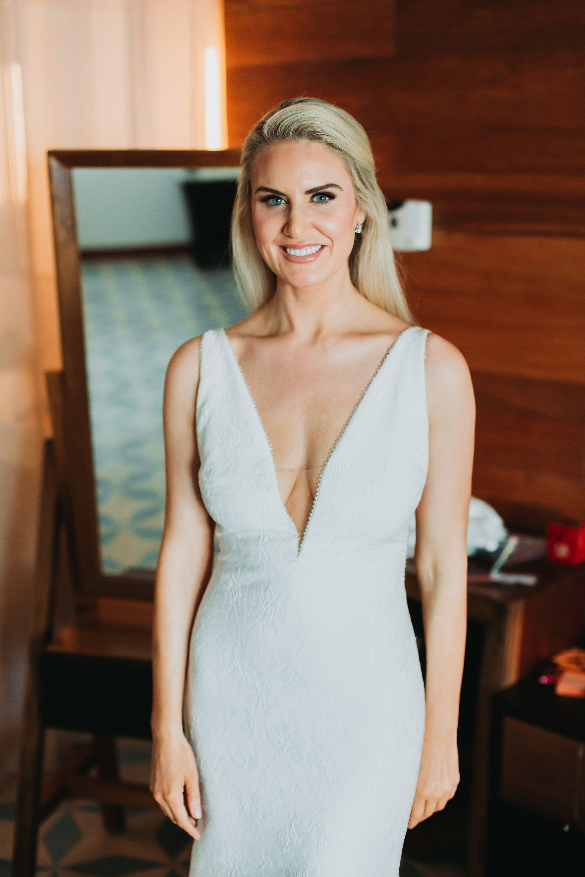 Wedding beach hair  Vanessa u Justinus Destination Wedding  The Cape Wedding  Cabo
