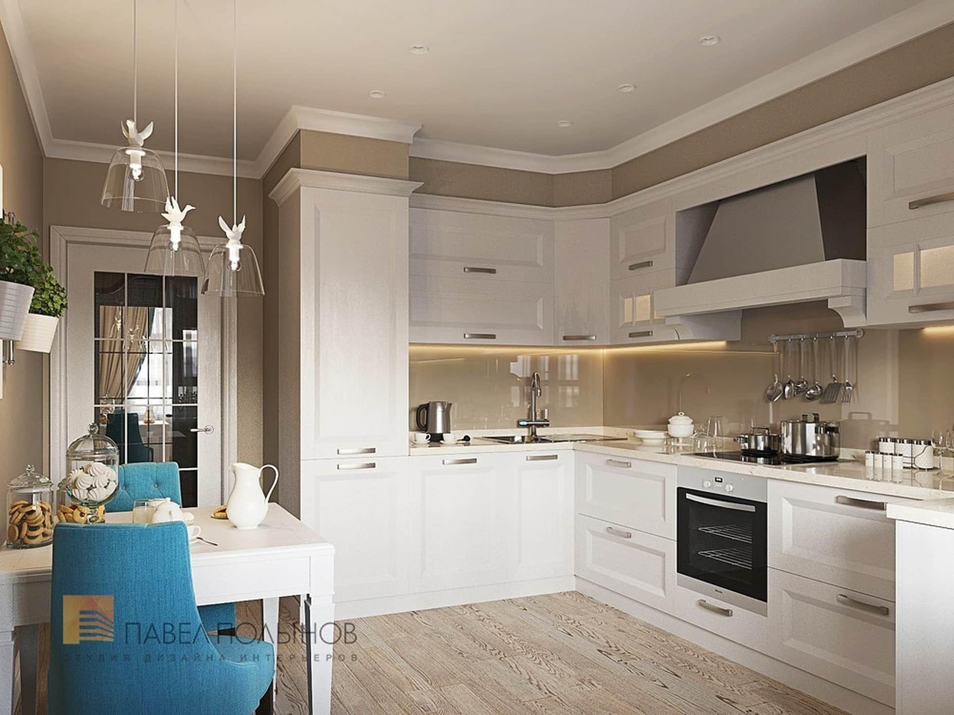 Cucina in stile di студия павла полынова cucina arredo interni